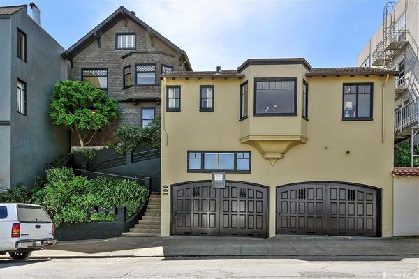 three homes on one double lot. US $10,000,000 in San Francisco ...