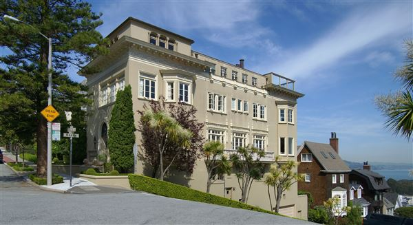 Magnificent pacific heights mansion california luxury for Mansions in san francisco for sale