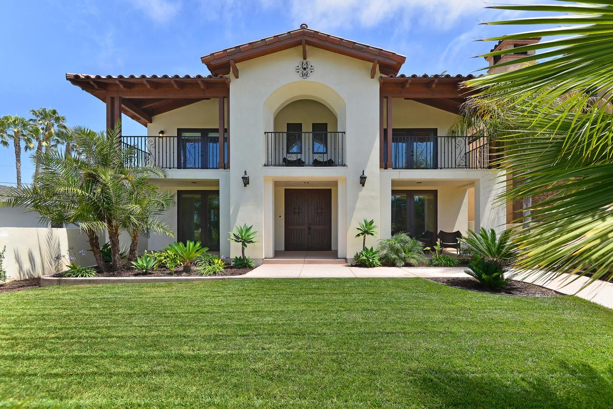 Stunning spanish style residence california luxury homes for Spanish style homes for sale