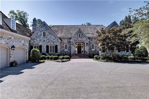 MAGNIFICENT STONE FRENCH COUNTRY HOME Virginia Luxury Homes