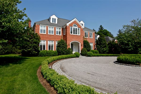 Stately georgian modern colonial new york luxury homes for New york luxury homes