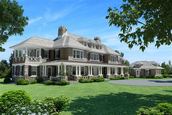 Exquisite new home amid two gorgeous acres connecticut for Luxury homes for sale in greenwich ct
