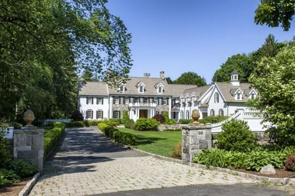 Unique parsonage road estate in greenwich connecticut for Luxury homes for sale in greenwich ct