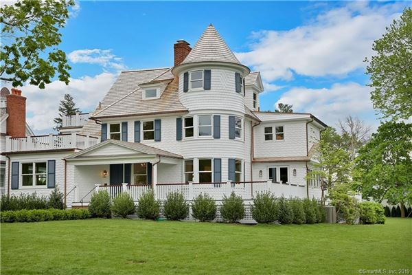 Completely Rebuilt Six Bedroom Victorian Connecticut Luxury Homes Mansions For Sale Luxury Portfolio