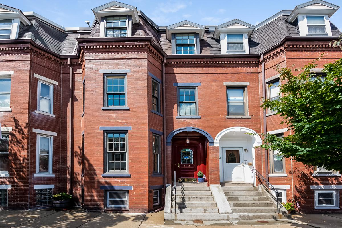 SINGLE FAMILY BROWNSTONE IN SOUTH BOSTON | Massachusetts Luxury Homes |  Mansions For Sale | Luxury Portfolio