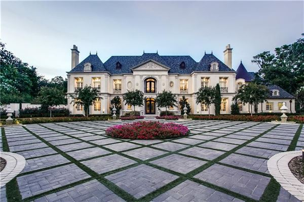 Prestigious French Chateau Texas Luxury Homes Mansions