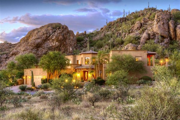 Luxury Real Estate Homes Mountainside Southwestern Contemporary