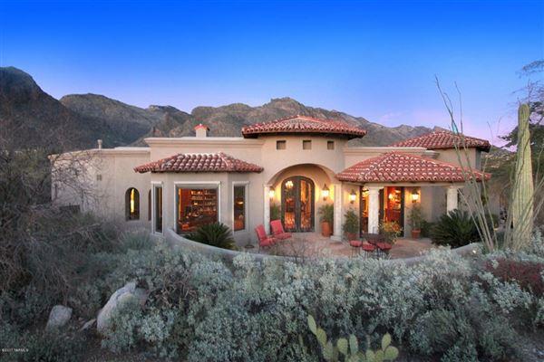 HILLTOP BEAUTY IN PRESTIGIOUS PIMA CANYON ESTATES Arizona Luxury - Luxury homes in tucson az