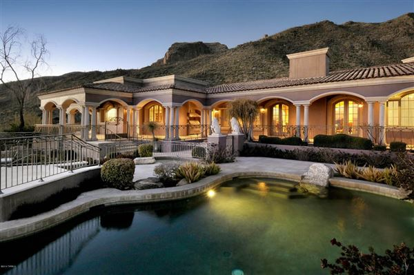 fabulous mansion on a very private high lot  arizona luxury homes, Luxury Homes