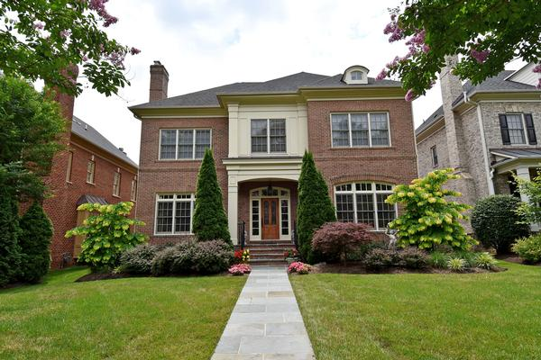 Finely appointed brick home virginia luxury homes for Classic homes va