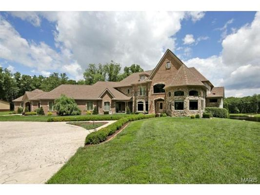 Custom Built Brick Beauty On 29 Lush Acres Luxury Homes