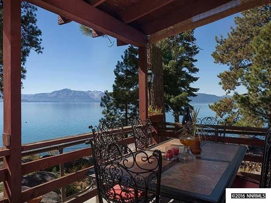 Unique lake tahoe waterfront property nevada luxury for Luxury lake tahoe homes for sale