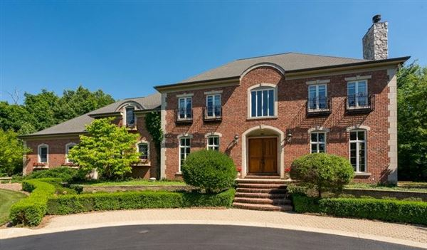 Stately french country estate michigan luxury homes for Luxury french real estate
