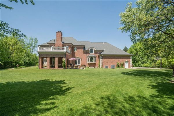 Stately French Country Estate Michigan Luxury Homes