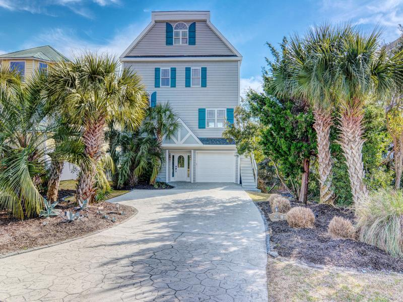 direct intracoastal waterway front home north carolina