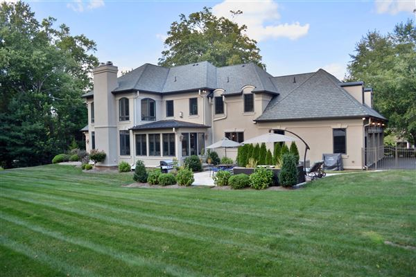 Stunning european style estate new jersey luxury homes for European mansions for sale