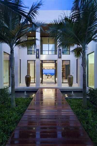 Ultra Modern Ocean To Intracoastal Estate Florida Luxury