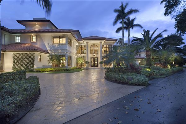 Timeless european inspired villa florida luxury homes for European mansions for sale