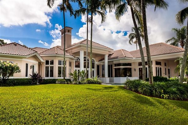Beautiful Home On Deep Water Florida Luxury Homes
