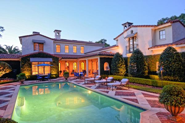 Elegant mediterranean home florida luxury homes for Elegant mediterranean homes