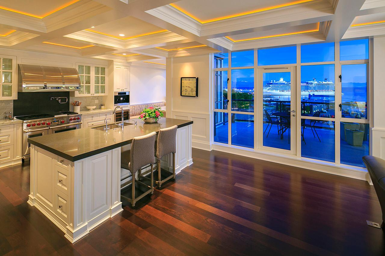 Shoal point oceanfront penthouse british columbia luxury