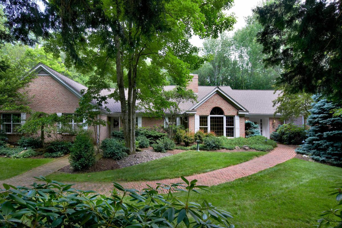 Spectacular All Brick Ranch Pennsylvania Luxury Homes