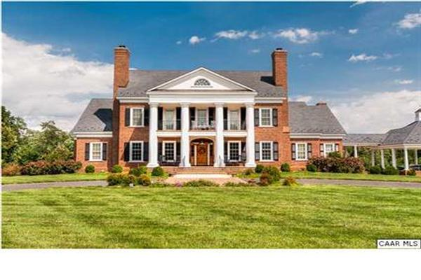 State Of The Art Albemarle Mansion Virginia Luxury Homes