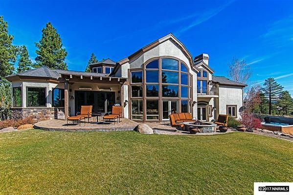 Lake tahoe style home in reno nevada luxury homes for Luxury lake tahoe homes for sale