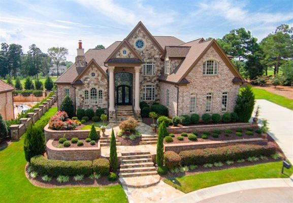 Stunning Estate Home On Tpc Wakefield Golf Course North