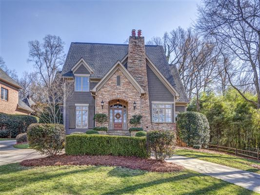 Gorgeous custom home near uptown charlotte north for Custom house charlotte