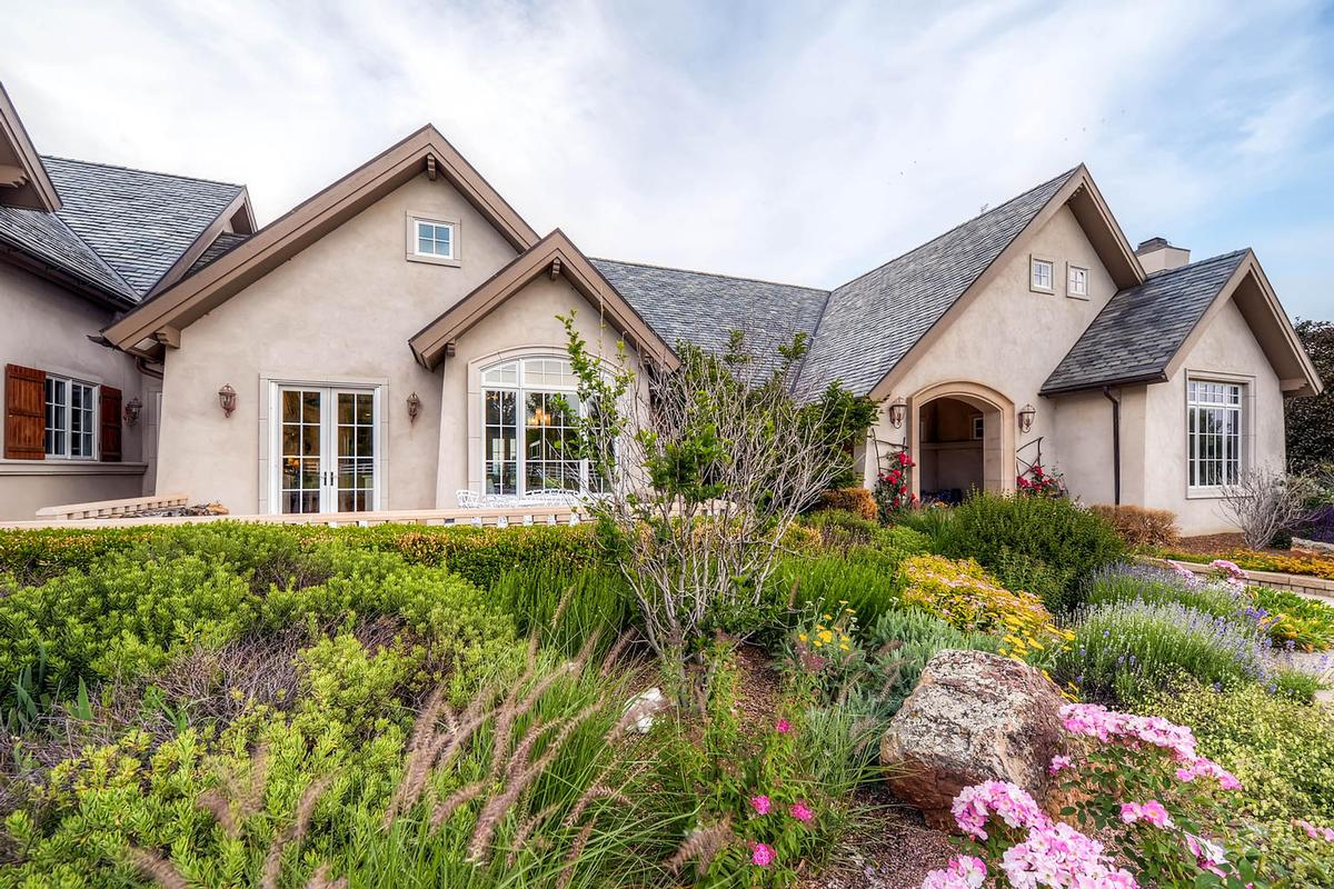 Elegant french country estate colorado luxury homes for Luxury french real estate