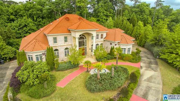 Breathtakingly beautiful european styled home alabama for European mansions for sale