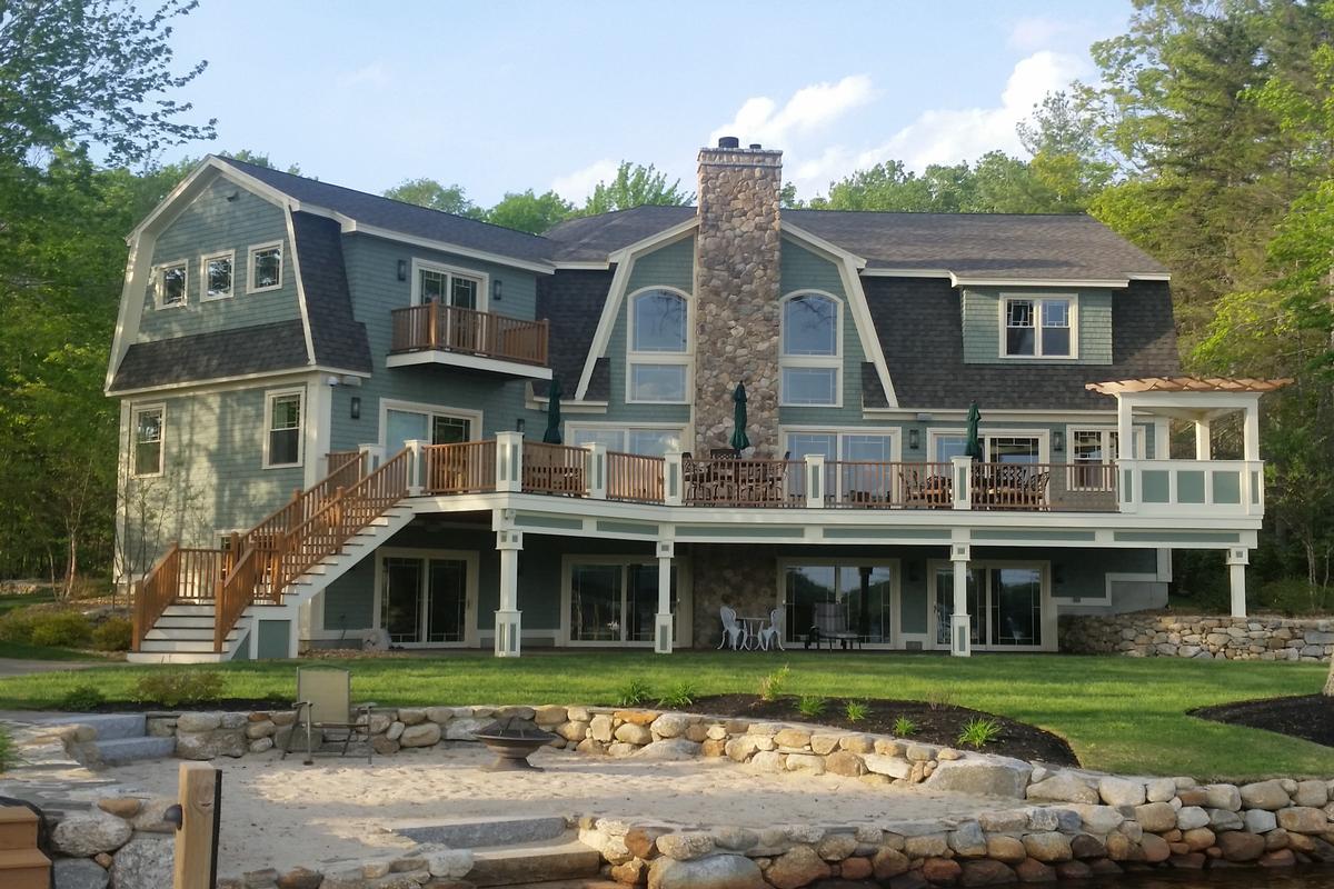Lake Winnipesaukee Governors Island New Hampshire Luxury