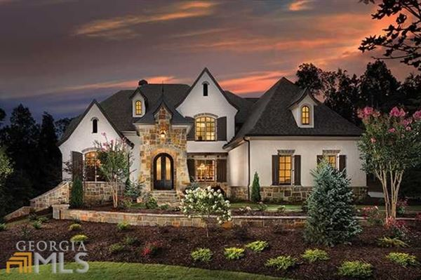 Exceptional New French Country Estate Georgia Luxury