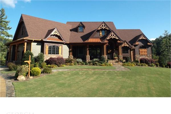 Upscale Craftsman Style Home Luxury Homes