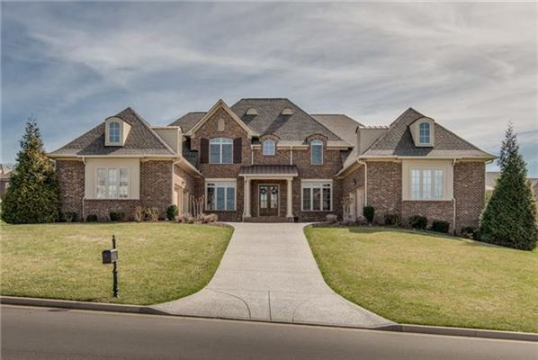 European Manor Home In Exclusive Taramore Tennessee