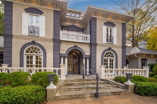 Stunning east memphis private estate tennessee luxury for East tennessee home builders