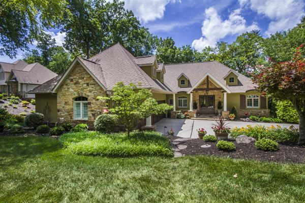 Luxury Homes Gorgeous French Country Lakefront Home