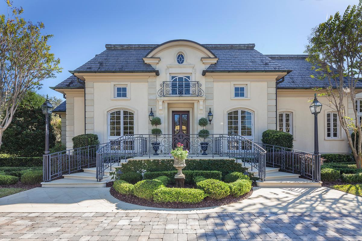 INSPIRING FRENCH CHATEAU | Florida Luxury Homes | Mansions For Sale | Luxury  Portfolio