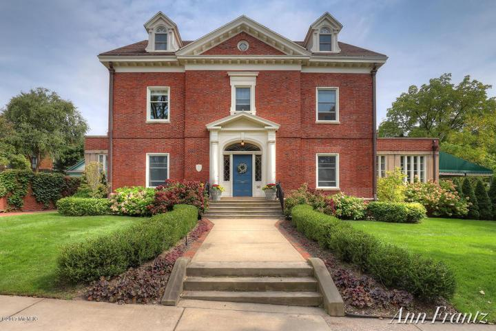 BEAUTIFUL GEORGIAN REVIVAL | Michigan Luxury Homes | Mansions For Sale |  Luxury Portfolio