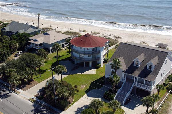 Edisto Beach Oceanfront Homes For Sale