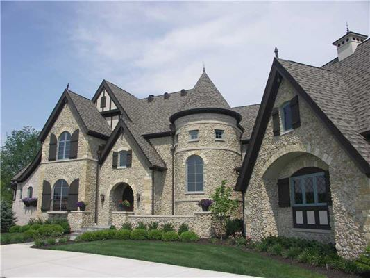 Extraordinary European Style Estate Indiana Luxury Homes