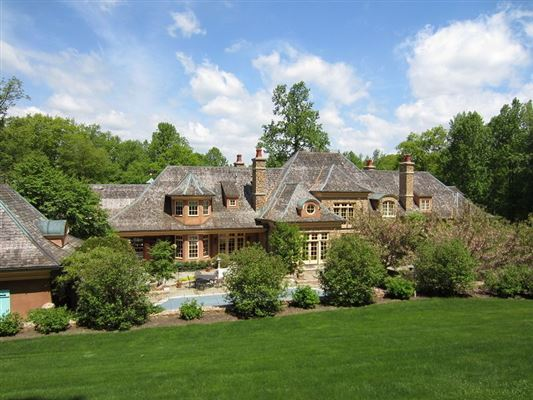 Stone and stucco country french manor new jersey luxury for Luxury french real estate