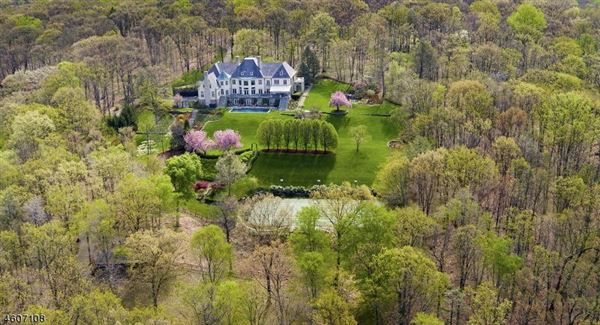 Exterior home colors stucco - French Country Style Estate In New Jersey New Jersey Luxury Homes