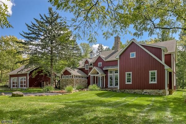 magnificently restored and expanded converted barn new jerseymagnificently restored and expanded converted barn new jersey luxury homes mansions for sale luxury portfolio