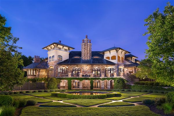 Tuscan Style Masterpiece In New Jersey Luxury Homes