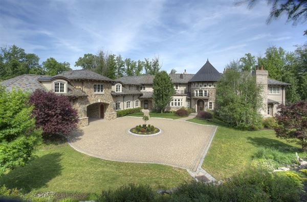 European Inspired Manor With Tuscan Accents New Jersey
