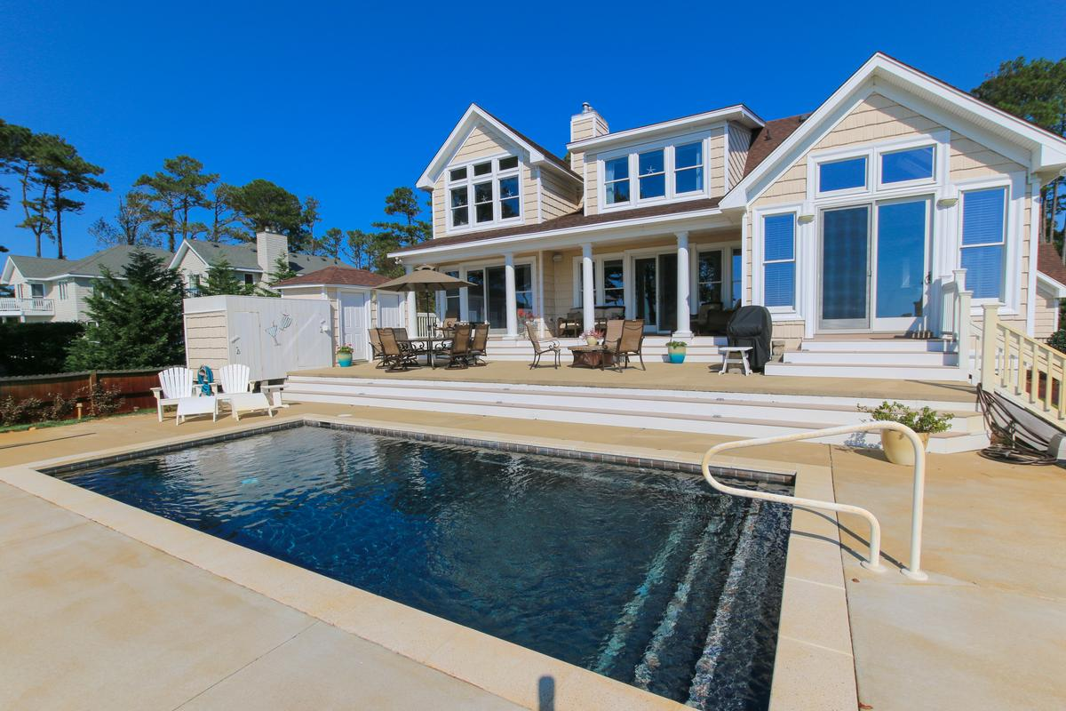 Contemporary Outer Banks Soundfront North Carolina
