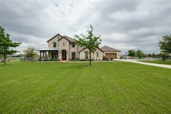 A Texas Ranch In Lucas Texas Luxury Homes Mansions For