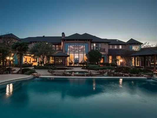 Chateau montclair the crown jewel of prosper texas for David sanders home designs